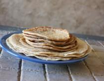 soaked whole grain tortillas