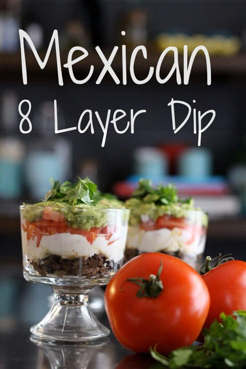 Mexican 8 Layer Dip
