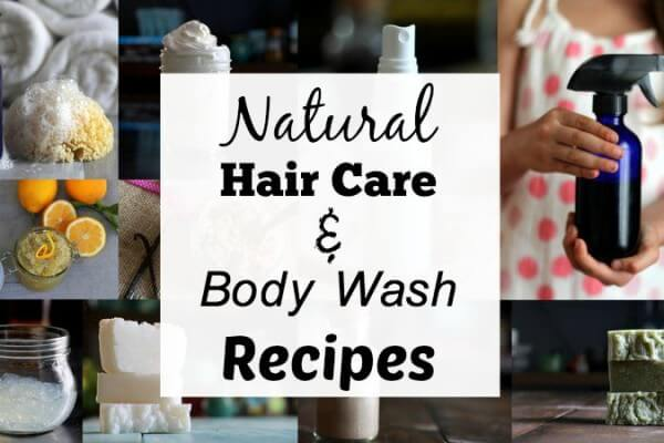 Natural Hair Care & Body Wash: Recipes & Recommendations
