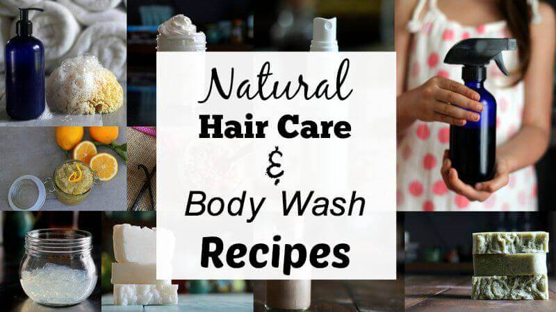natural-body-wash-hair-care-recipes