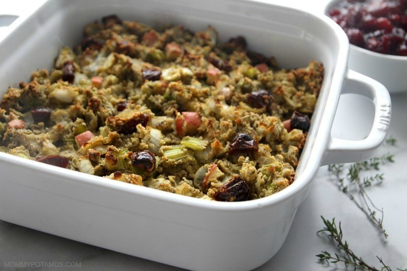 Make this holiday sage & apple stuffing a delicious, grain-free alternative to traditional bread-based dishes. It's paleo, primal, and GAPS compliant – your guests wont realize it isn't bread-based!