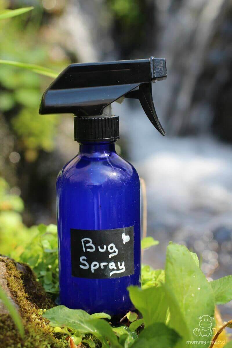 homemade bug spray recipe