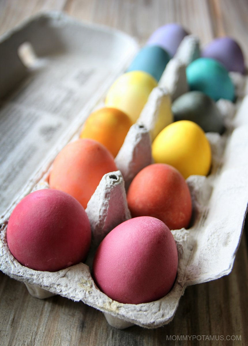 Natural Easter Egg Dye Recipes