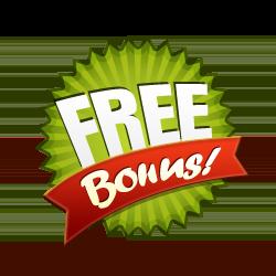 Free Bonus - Burst Badge Green