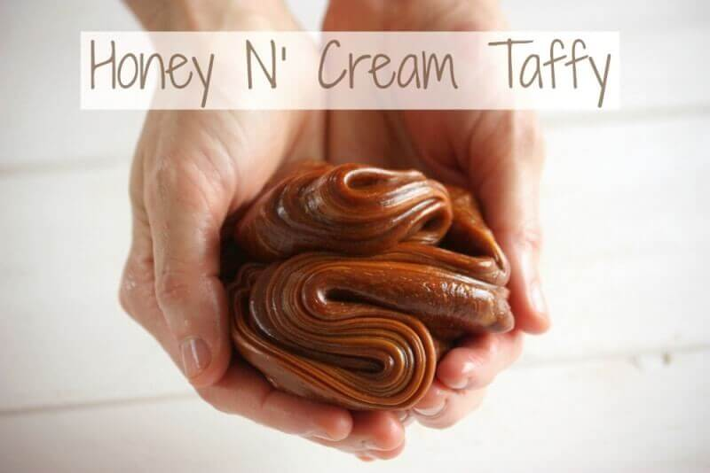 Honey And Cream Taffy Recipe