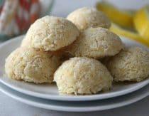Lemon Coconut Macaroons Recipe