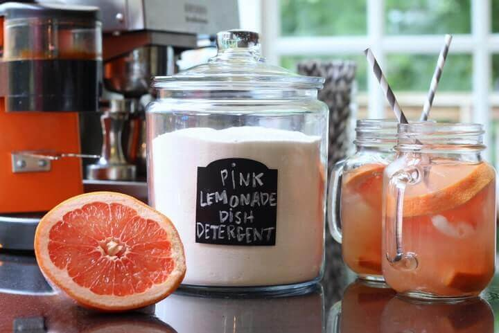 Pink Lemonade Dish Detergent