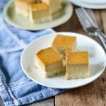pumpkin custard bars