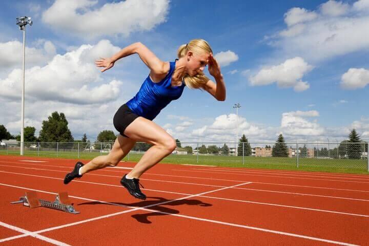 Track athlete