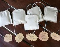 DIY Unbleached Tea Bags
