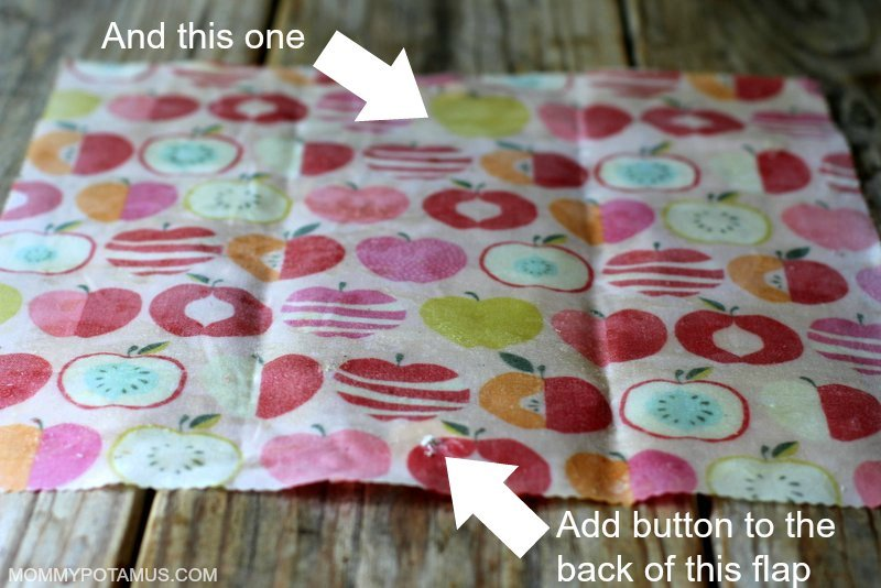 DIY Reusable Snack Bags - Step 4
