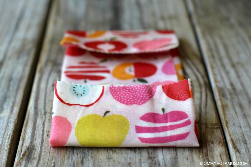 DIY Reusable Snack Bags - Step 3