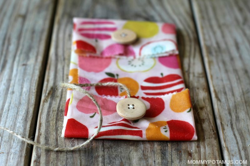 DIY Reusable Snack Bags - Step 5