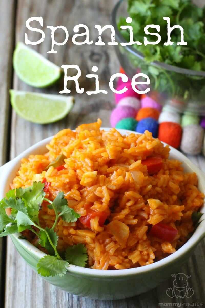 Spanish Rice Recipe - So easy and flavorful!