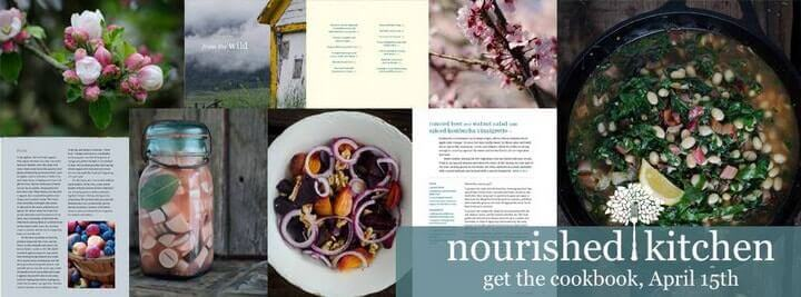 sneak peak inside The Nourished Kitchen cookbook