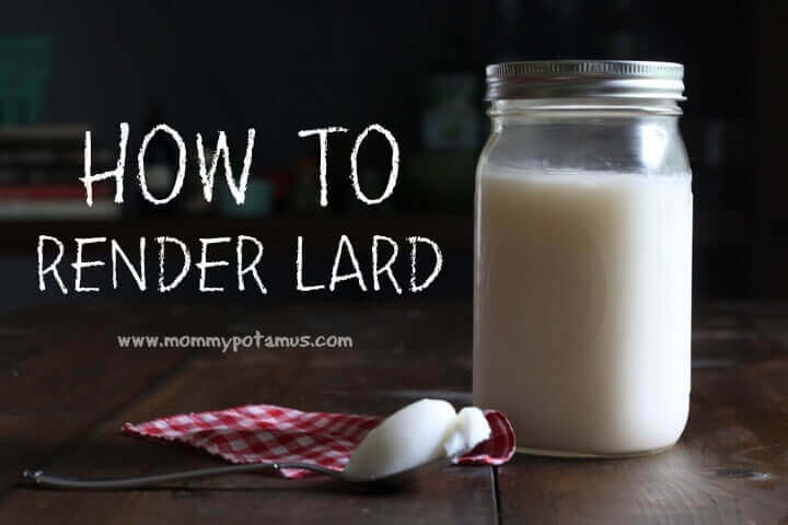 Did you know that lard is about 45% oleic acid, a monounsaturated fat also found in olive oil? Stop by my kitchen today and I'll tell you all about why I love lard, plus I'll show you a simple technique for rendering it at home.