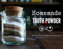 Homemade Tooth Powder Recipe