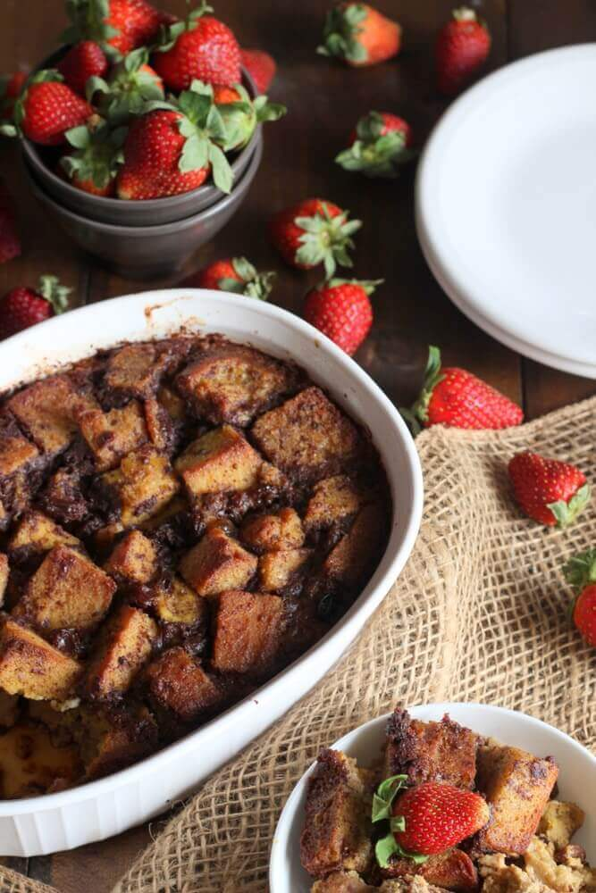 Bread Pudding Recipe (Gluten-Free, Paleo)