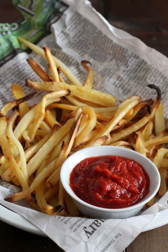 baked-parsnip-fries