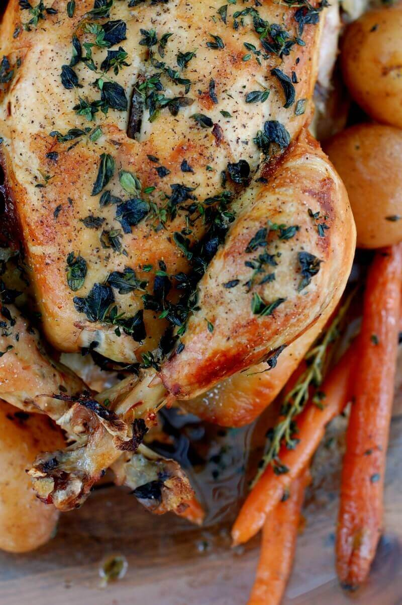 roasted-chicken-recipe-with-fresh-herbs