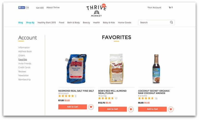 thrive-market-shopping-list