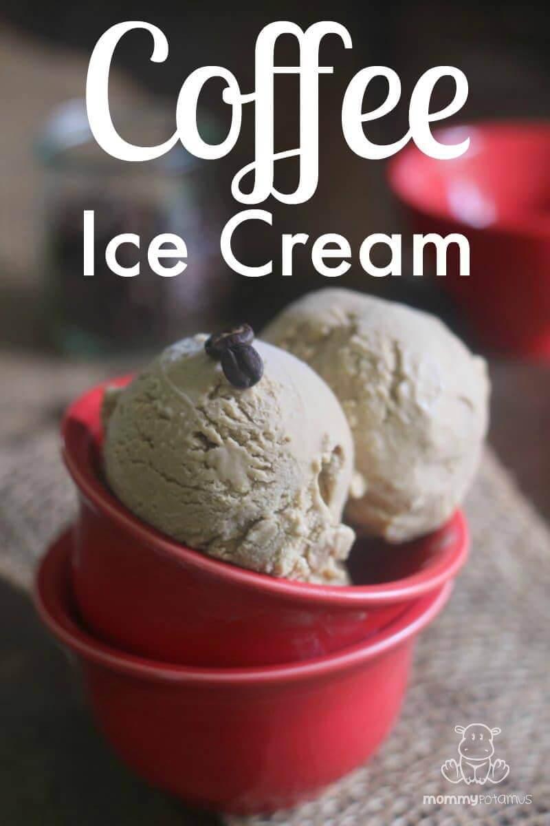 Coffee Ice Cream Recipe #realfood