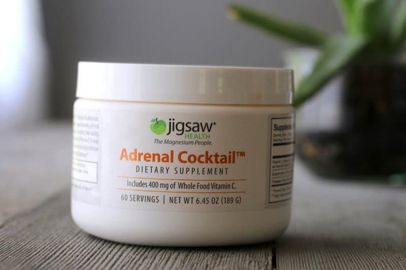 Himalayan Salt Vitamin C Adrenal Support Tonic