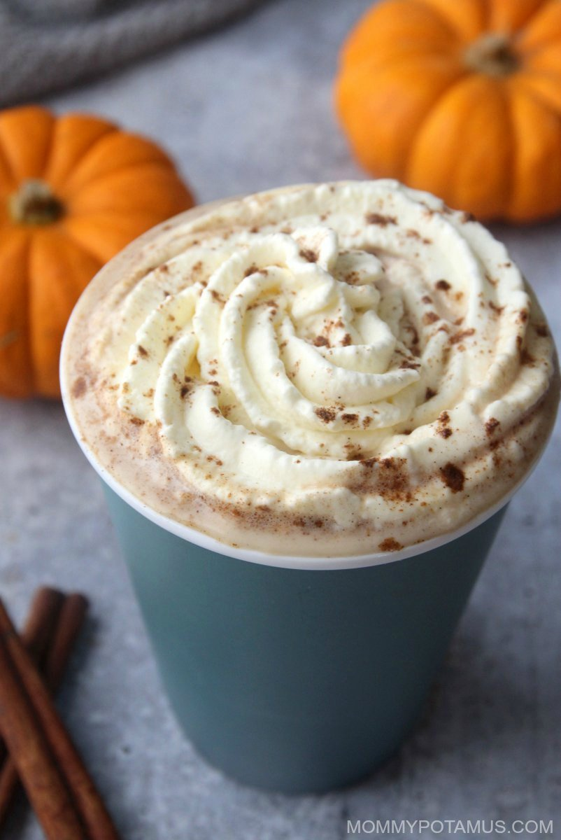 Pumpkin Spice Latte Recipe - Pumpkin is the official flavor of fall, isn't it? Who are we to argue with that?
