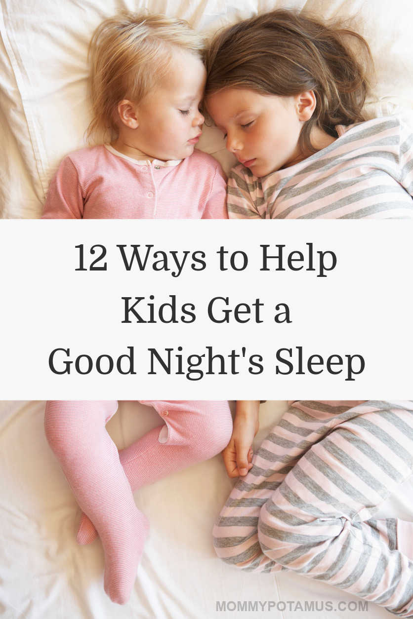 "Have you ever wished kids came with a ""sleep button""? Well, they kind of do. smile emoticon Here are ten research-backed tips for helping kids sleep better, including an acupressure point that helps them relax at bedtime. #sleeptips"