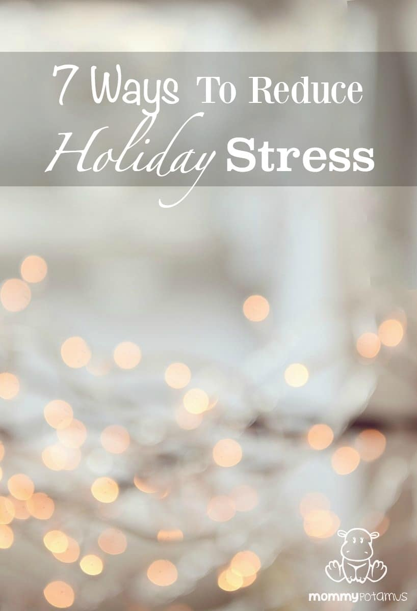 Tips for reducing holiday stress