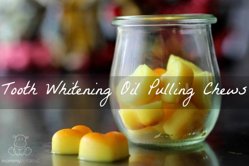 Coconut Oil Pulling Chews Recipe