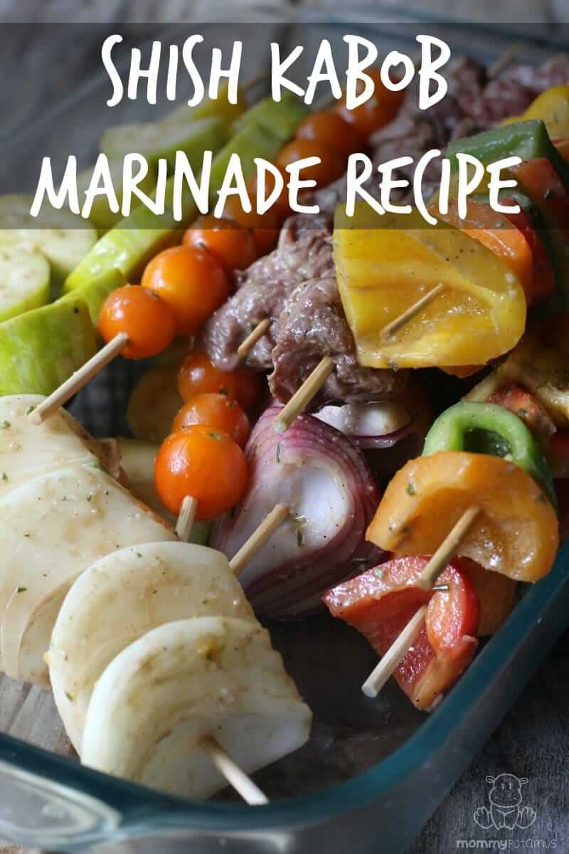 While I love the sound of sizzling steak and the feeling of relaxed celebration that outdoor grilling brings, lets be real. The BEST part of grilling is that my kitchen is mostly clean when the meal is done. :) This is one of my favorite shish kabob marinade recipes!