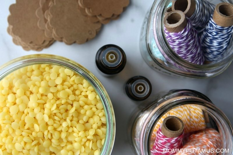 how-to-make-beeswax-candles-essential-oils
