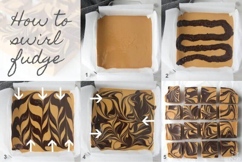 How To Swirl Fudge