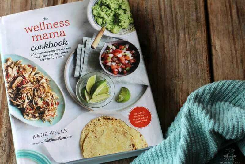 Wellness Mama Cookbook review - This book is full of recipes for busy moms and practical tips!