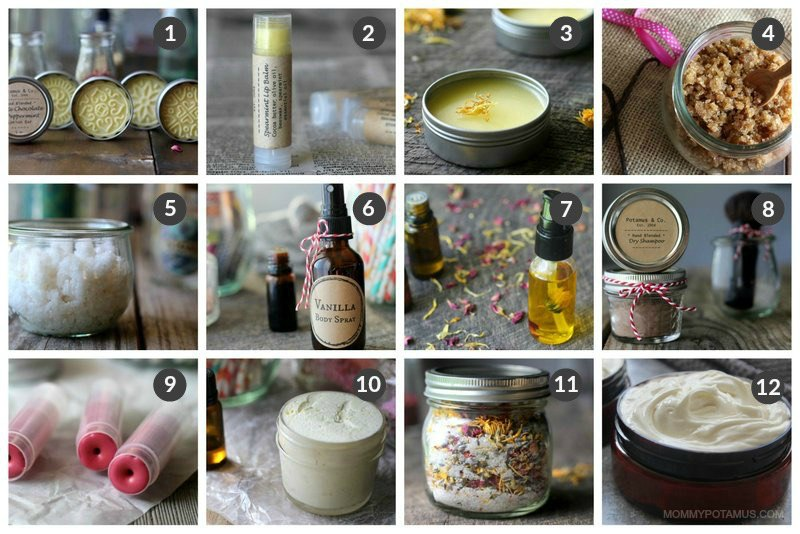 Homemade Gift Ideas - Body Care