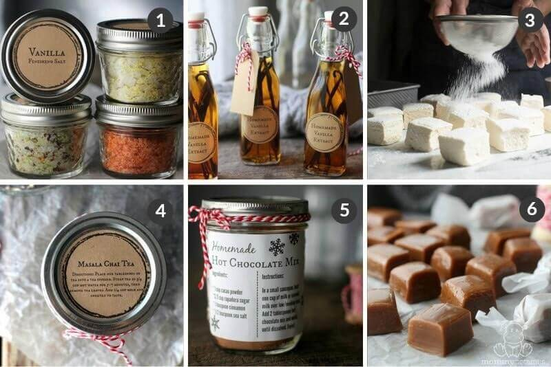 Homemade Gift Ideas - Food