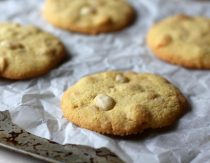 White Chocolate Chip Cookies Recipe (Gluten-Free, Paleo)