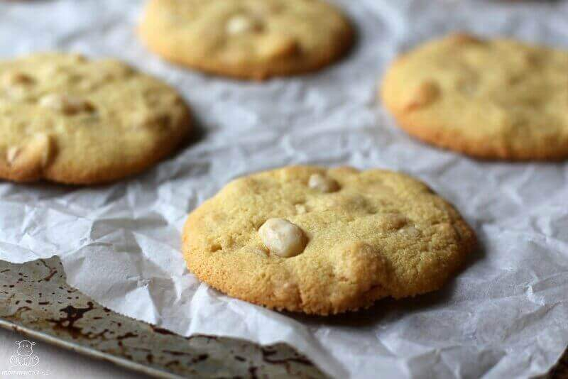 gluten-free white chocolate chip cookies recipe