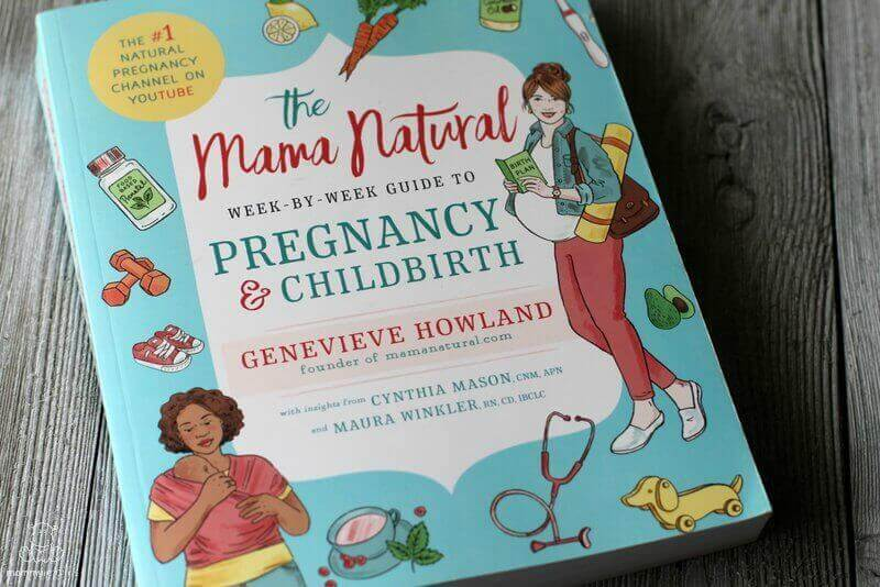 mama natural pregnancy birth book