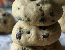 Chewy Cinnamon Raisin Cookies