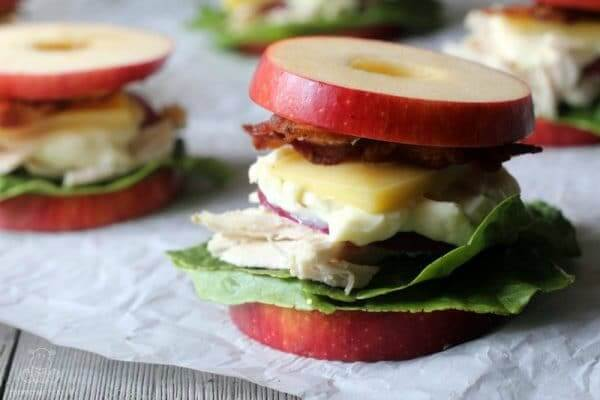 Easy Apple Sandwiches