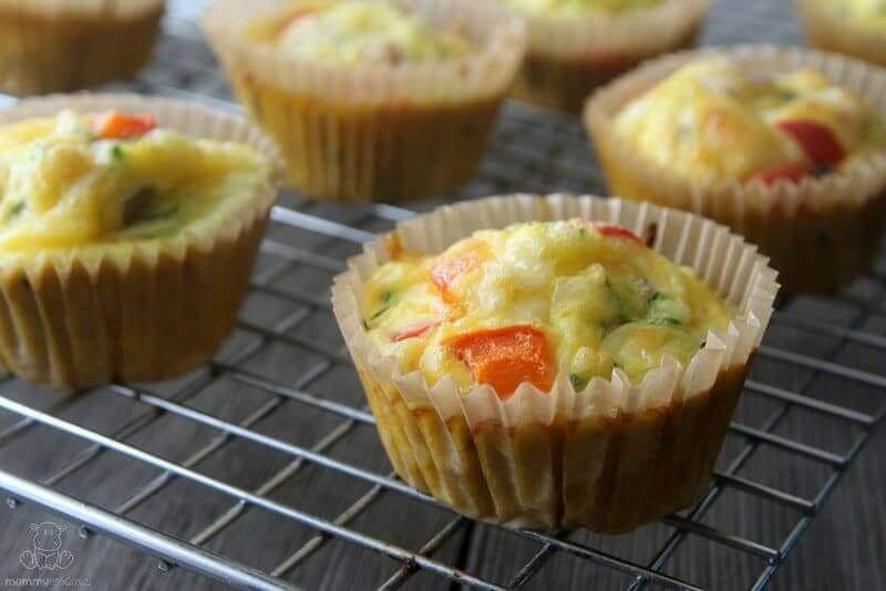 Easy Breakfast Egg Muffins With Cheese