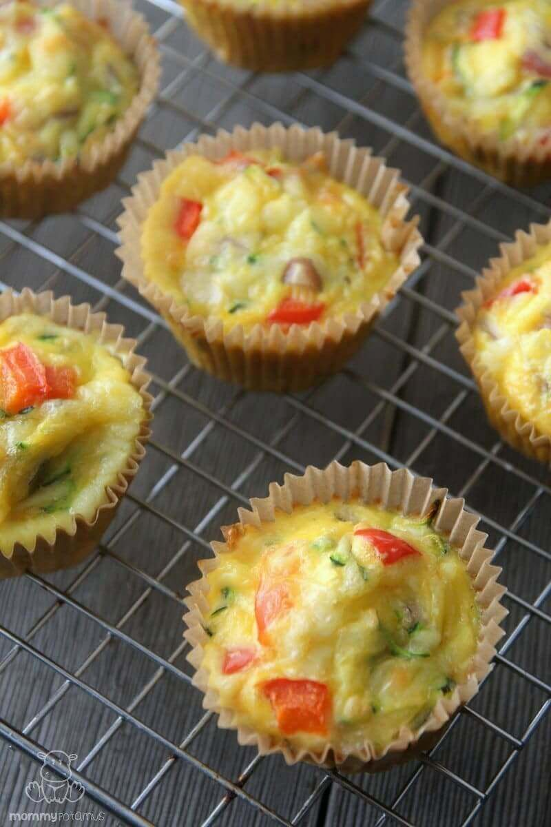 These healthy breakfast egg muffins only take 10 minutes of hands-on prep time, and they make a delicious grab-and-go breakfast.
