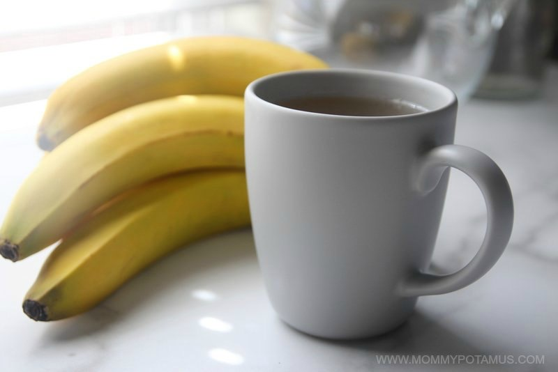 banana tea for sleep