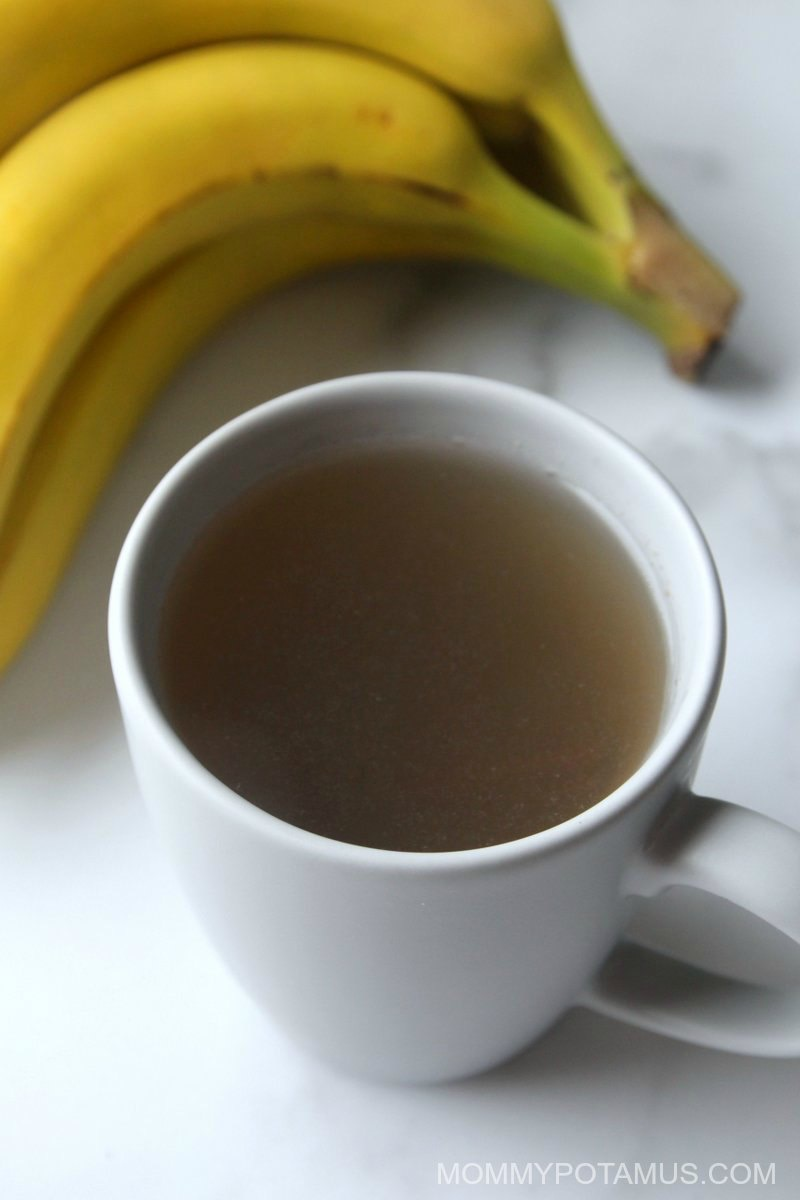 banana tea sleep