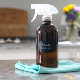 How To Make Non-Toxic Granite Cleaner