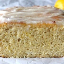 Lemon Bread Recipe With Vanilla Glaze (Gluten-Free, Paleo)