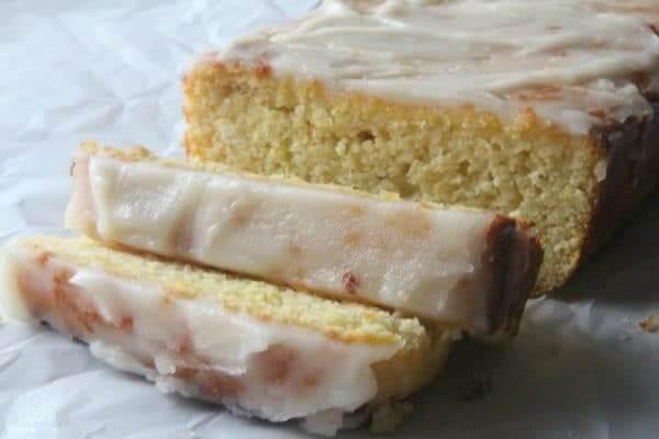 Lemon Bread Recipe With Vanilla Glaze (Gluten-Free, Paleo)