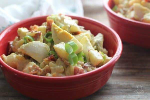 Homestyle Potato Salad With Bacon And Egg